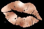 Leah Louise Makeup Rose Gold Lips